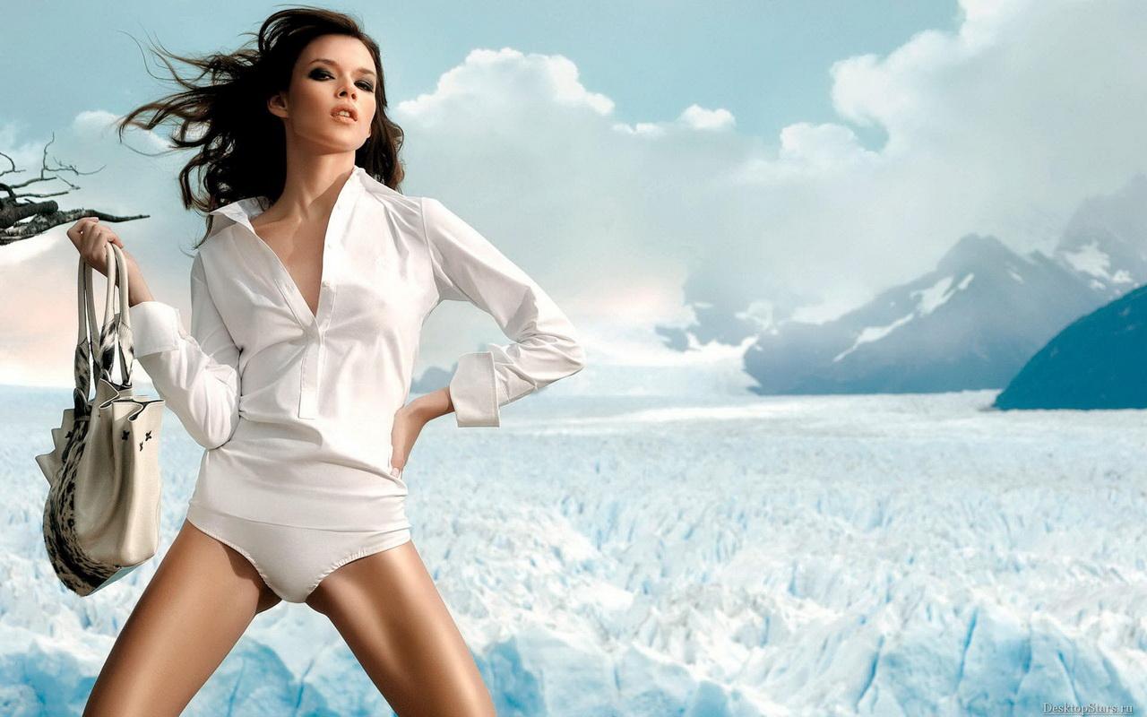 1280x800 Widescreen Florencia Salvioni beauty wallpaper